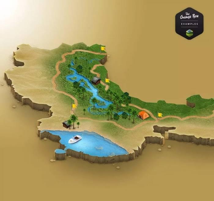 3D MapGenerator Terrain(Photoshop)(9)