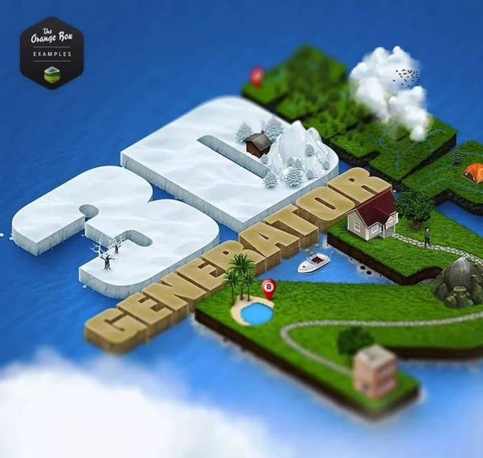 3D MapGenerator Terrain(Photoshop)(4)