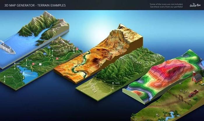 3D MapGenerator Terrain(Photoshop)(5)