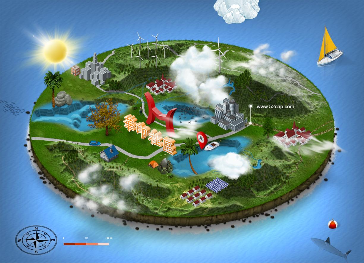 3D MapGenerator Terrain(Photoshop)(1)